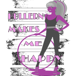 hulahoop girl hullern rosa makes me happy reifen