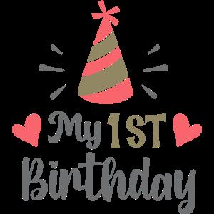 Mein 1. Geburtstag