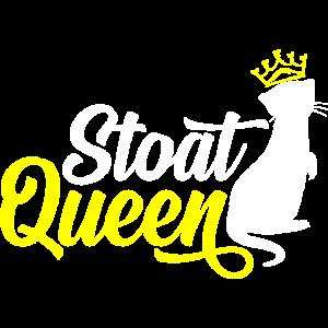 Hermelin-Königin Kurzschwanz-Wiesel Hermelin