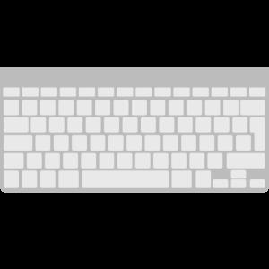 Ich spiele die Tastatur