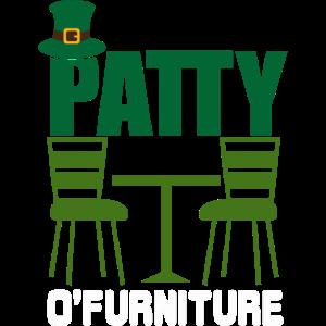 Patty O'Furniture St Patrick's Day Kostüm Irisch