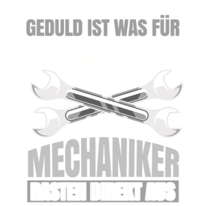 Mechaniker Schrauber KFZ Geschenk Handwerker Beruf
