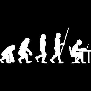 Computer Geek Entwicklung Evolution