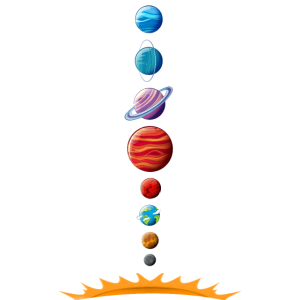 Unser Sonnensystem Modell Planeten Umlaufbahn