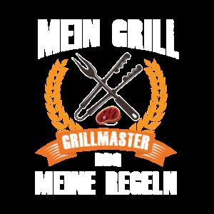 Grillmaster mein Grill meine Regeln Grillschürze