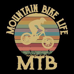 MOUNTAIN BIKE LIFE Mountainbiker Mountainbike MTB