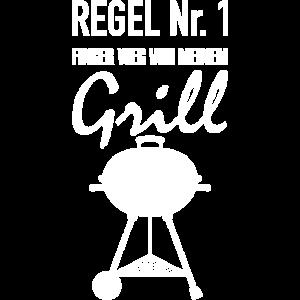 Grillen Regel Nummer 1 BBQ Grillschürze