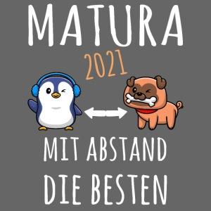 MBA Matura 2021 Hund Pinguin Shirt Geschenk