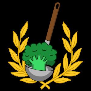 Lorbeerkranz Vegan kochen Brokkoli Gemüse Speise