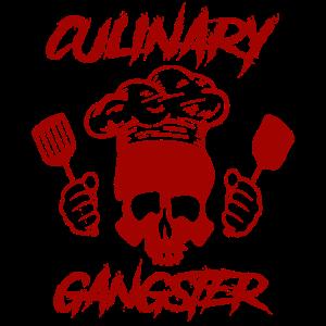 Culinary Gangster Totenkopf Koch