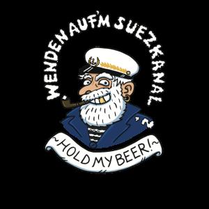Suezkanal Wenden Beer