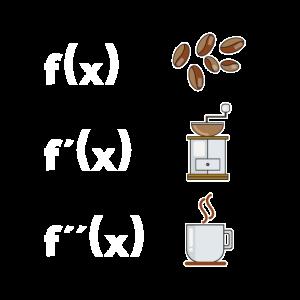Mathe Lehrer Ableitung Kaffee Liebhaber