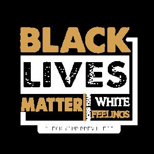 Black lives Matter More than White BLM Design
