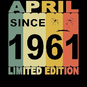 1961 Jahr Geburtstag Legendär seit April 1961