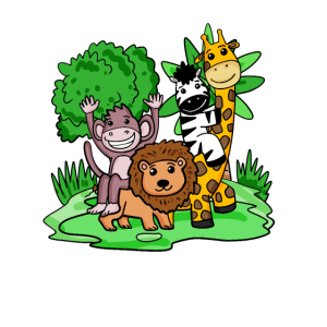 Dschungel Tiere Niedlich