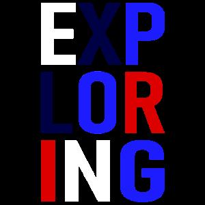 Exploring - curios - neugiering - erforschen