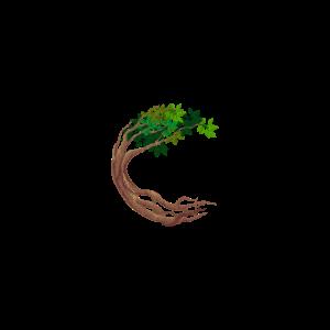 Runder Baum Kreisförmiger Weltenbaum