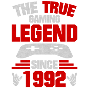 Gaming Legende 1992 Geboren
