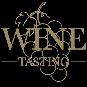 wine tasting - Weinprobe mit Weintrauben