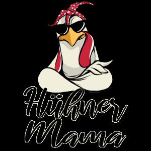 Hühner Mama