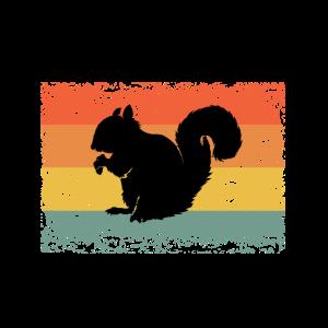 Vintage Eichhörnchen Tier Geschenk