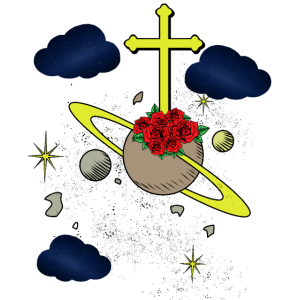 Tod Jenseits Kreuz Universum Jesus Geschenk