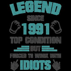 Top Zustand 1991 Geboren