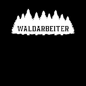 Waldarbeiter Holzfäller Motorsäge Kettensäge Holz