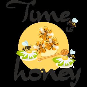 Bienen Time is honey Imker