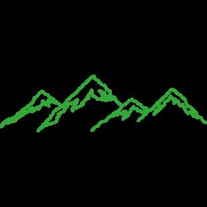 Berge Zeichnung