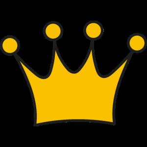 Krone Auszeichnung Symbole