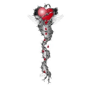 Barbwired Heart 2 - Herz in Stacheldraht