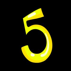 ziffer 5