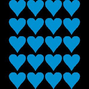 Herz Muster Template Farbe anpassbar