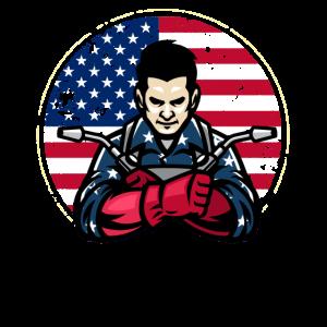 4th of july, 4th of july welder, Welder USA flag