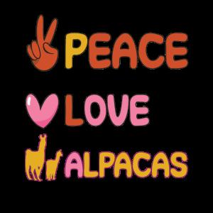 Peace Love Alpacas