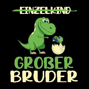 Einzelkind Großer Bruder Dino