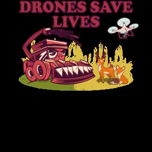 Tierschutz Verein Drohnenpilot Piloten Naturschutz