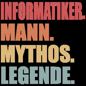 Informatiker Informatik Vintage