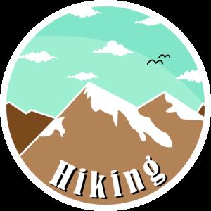 Wander Design für Bergsteiger und Wanderfreunde