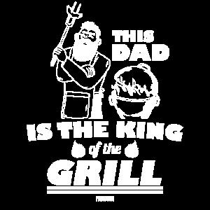 Papa Grillen Vatertag Geschenk
