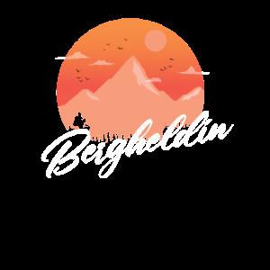Bergheldin Bergsteigerin Berg Liebhaberin