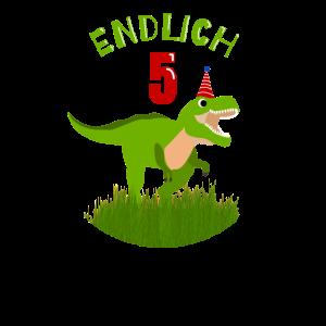 Endlich 5 - 5. Geburtstag - Dinosaurier