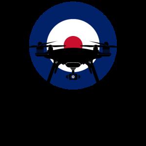 Drohnenpilot security Drohne mit Kamera