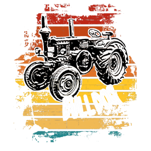 Bulldog / Traktor / Schlepper / Trecker / Landwirt