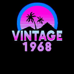Retrowave Vintage 1968 Geburtstags Geschenk