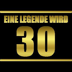 Eine Legende wird 30