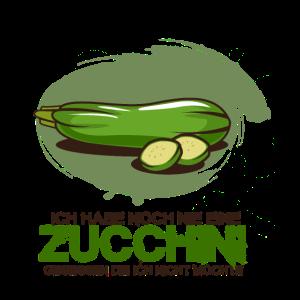 Ich habe noch nie eine Zucchini gegessen
