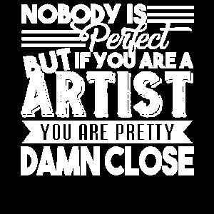 Künstler als Künstler Du bist hübsch
