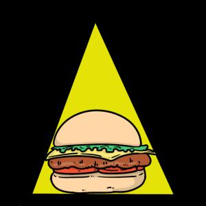Fast Food Burger Speise Nahrung Geschenk